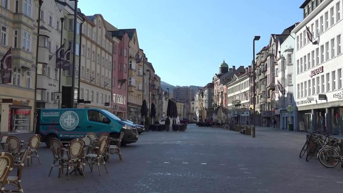Austria: Residentes de Innsbruck comentan la decisión del Gobierno de levantar la cuarentena por coronavirus