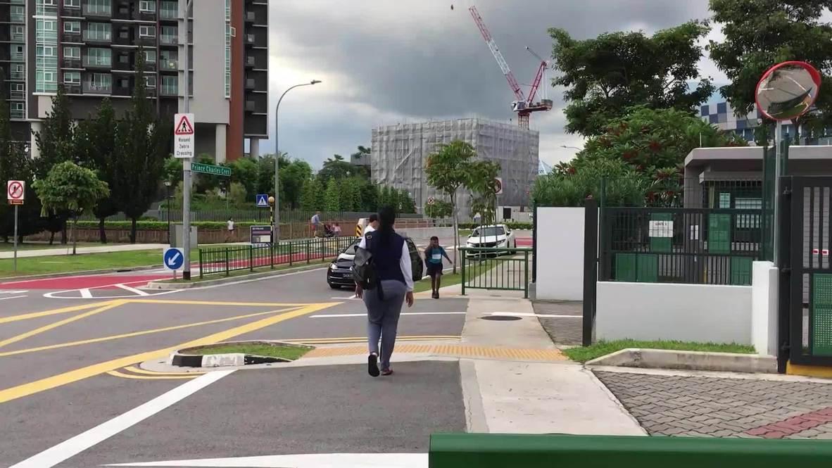 سنغافورة: بدء سريان تدابير إضافية للتباعد الاجتماعي بسبب فيروس كورونا