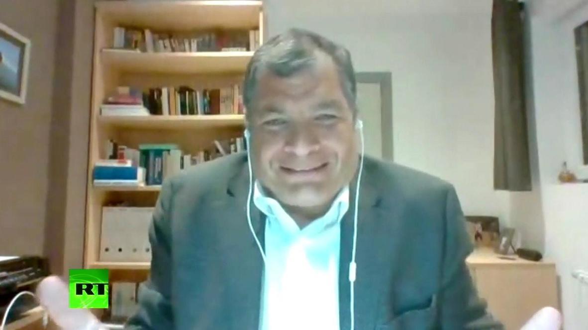 """""""No tiene ni pies ni cabeza"""" - Rafael Correa sobre su sentencia en Ecuador *CONTENIDO DE SOCIOS*"""