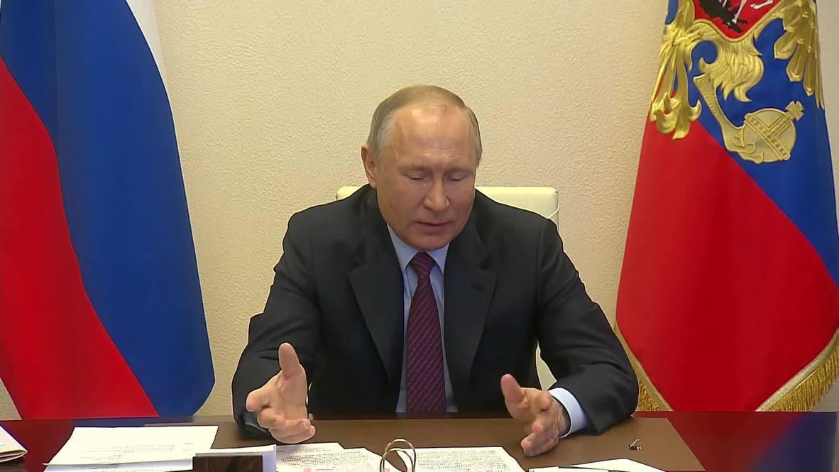 """Россия: """"Сотрудничество с США развивается не только в космосе """" – Путин провел сеанс связи с МКС"""