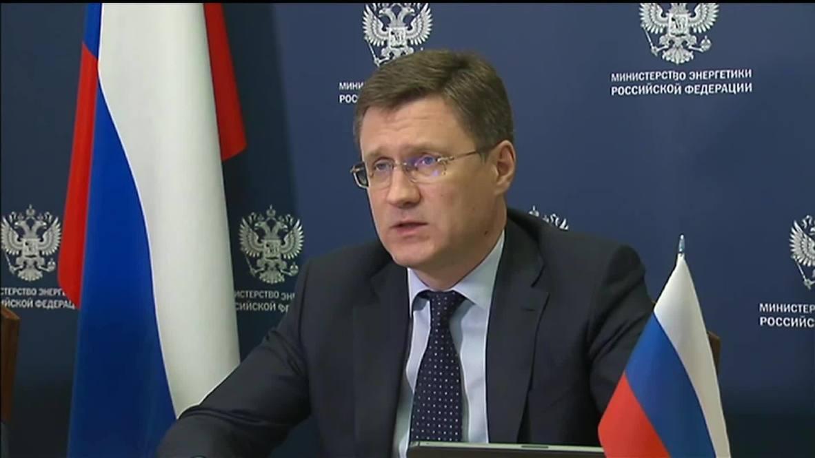 """روسيا: وزير الطاقة الروسي يحذر من """"عواقب خطيرة"""" لأزمة الطاقة العالمية"""