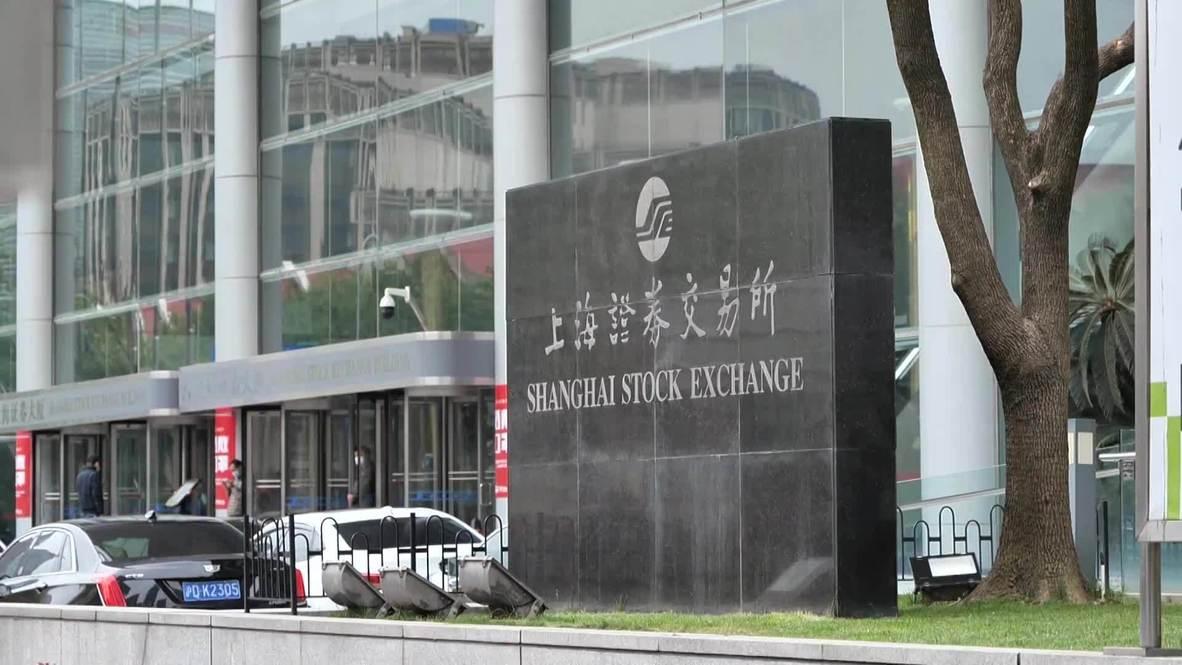 الصين: انخفاض في بورصة أسهم شنغهاي جراء تدهور أسعار النفط