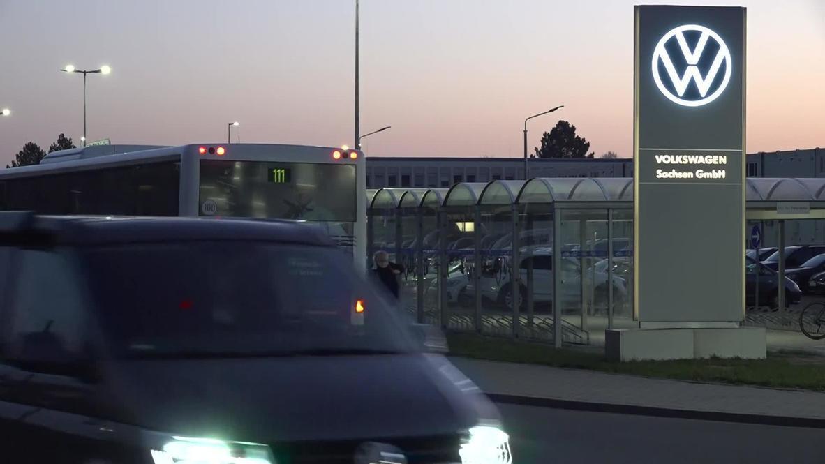 Alemania: Fábrica de Volkswagen reabre en Zwickau al reducirse las restricciones por la covid-19