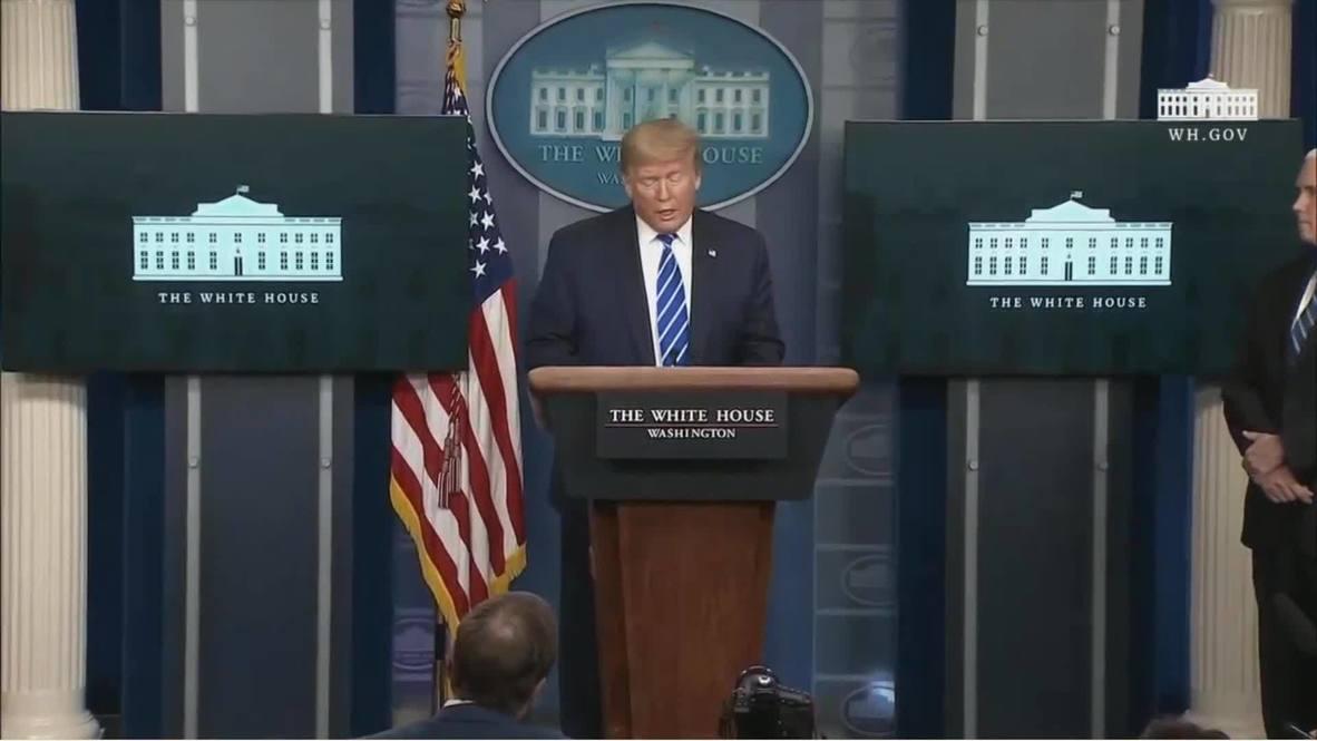الولايات المتحدة: ترامب يقترح حقن مرضى كورونا بالمطهرات للقضاء على الفيروس