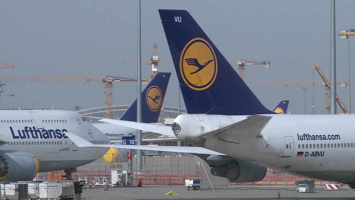 Alemania: Lufthansa ultima rescate estatal tras revelar unas pérdidas de 1.200 millones de euros