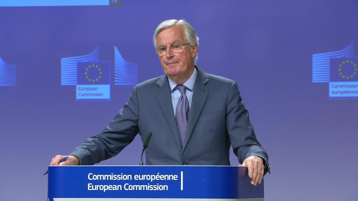 Belgium: EU's Barnier slams UK for failing to 'commit seriously' to trade talks