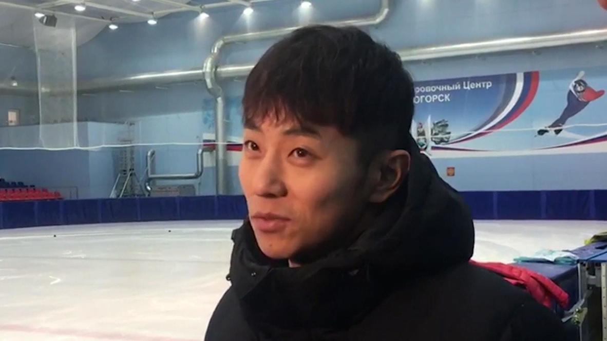 Россия: Олимпийский чемпион в шорт-треке Виктор Ан объявил о завершении спортивной карьеры *АРХИВ*