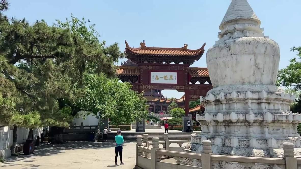 China: Reabren la Torre de la Grulla Amarilla de Wuhan tras 100 días de cierre por la pandemia de coronavirus