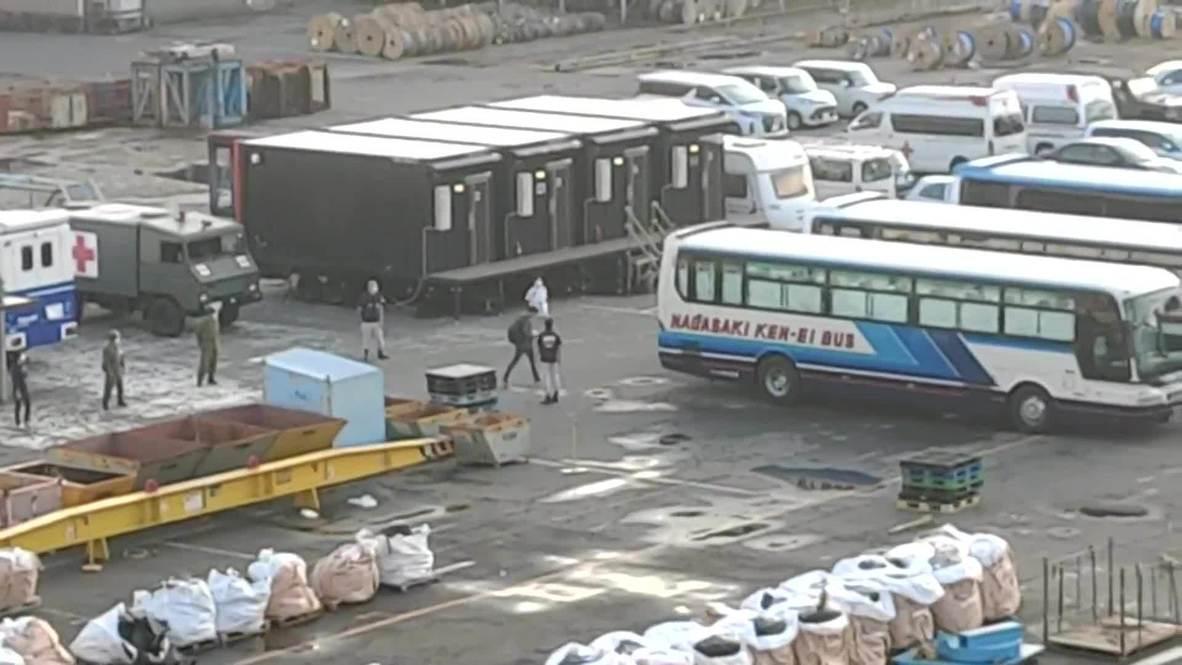 Japan: Crew begin disembarking Costa Atlantica cruise ship hit by COVID-19