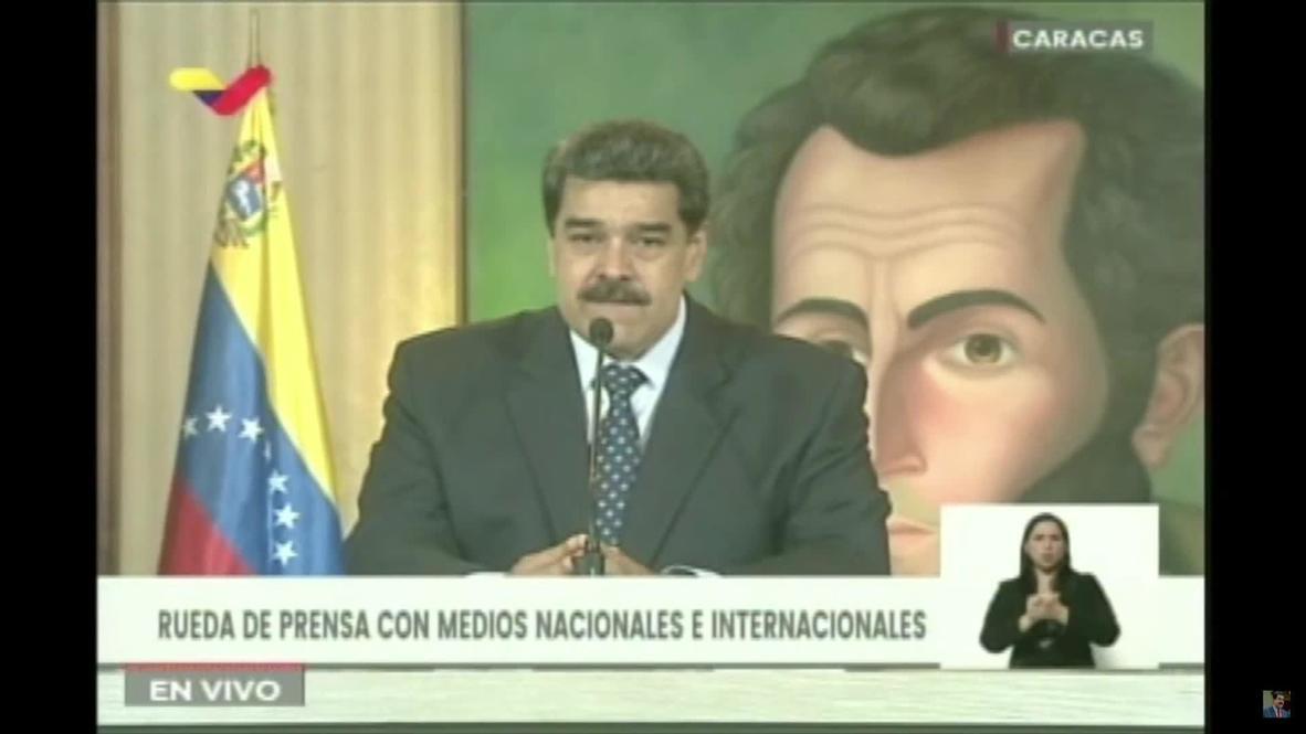"""فنزويلا: مادورو يعلن اعتقال أربعة أشخاص جدد على صلة بمحاولة """"الغزو"""" الفاشلة"""