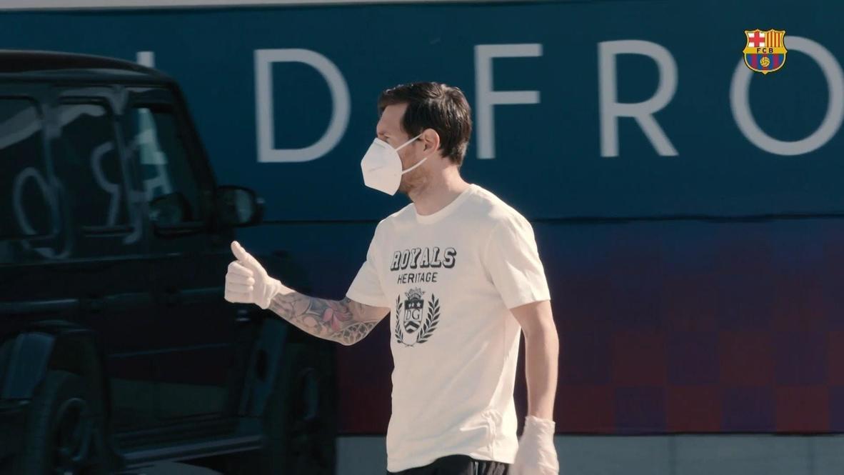 "Испания: Игроки ФК ""Барселона"" проходят тестирование на COVID-19 в преддверии возобновления тренировок"