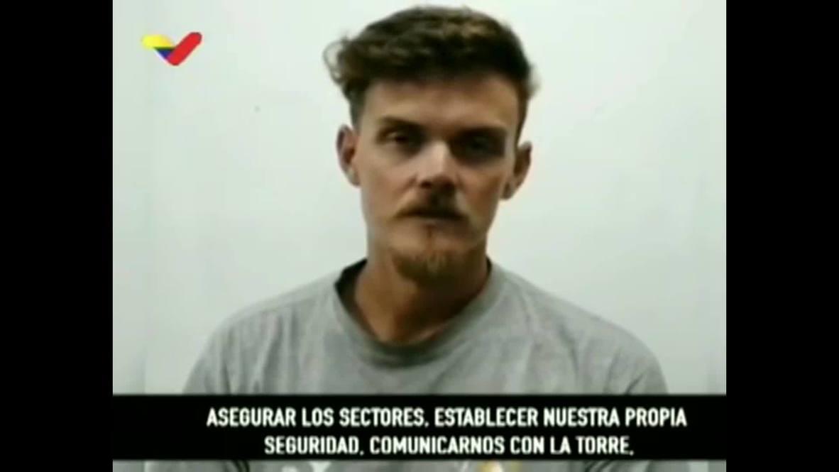 فنزويلا: المرتزق الأمريكي المعتقل يعترف بأن هدف العملية كان خطف مادورو ونقله إلى الولايات المتحدة