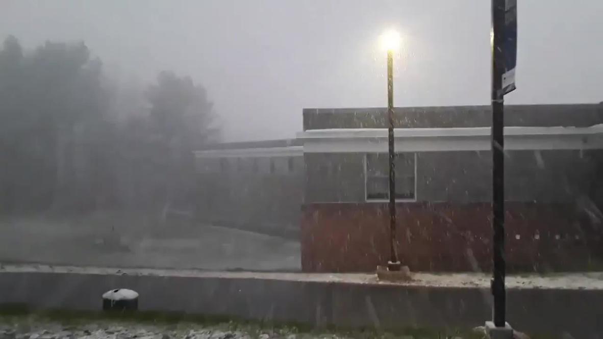 EE.UU.: Un vórtice polar provoca una nevada en Vermont
