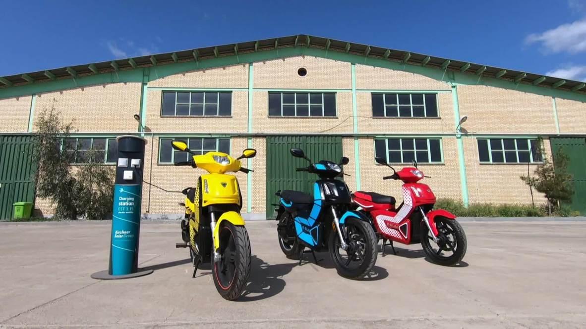 Iran: New range of locally built electric motorbikes developed near Tehran
