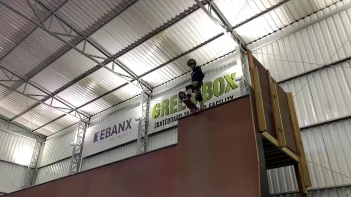 Бразилия: 11-летний скейтбордист установил новый рекорд, сделав вращение на 1080 градусов