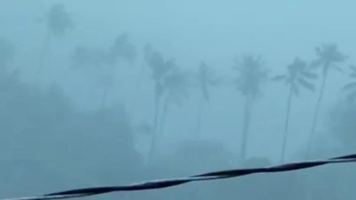 Filipinas: Decenas de miles de personas evacuadas tras la llegada del tifón Vongfong