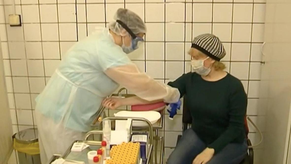 Россия: Москвичей начали тестировать на антитела к коронавирусу