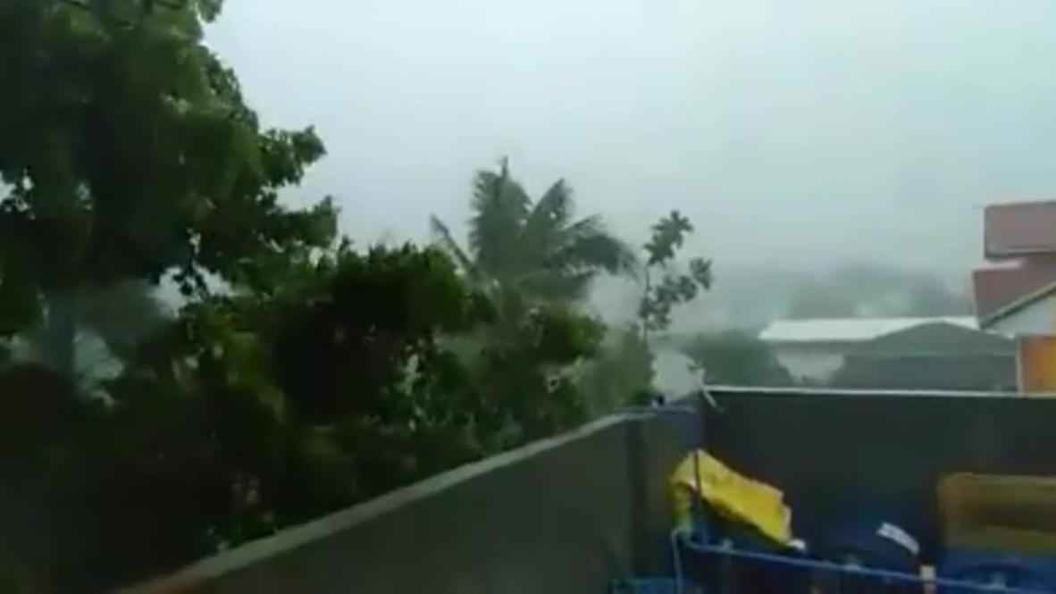 Philippines: Massive Typhoon Vongfong hits island of Luzon