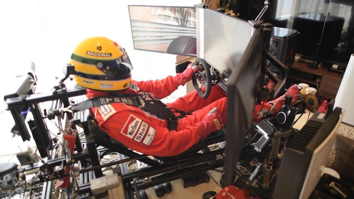 Япония: Фанат Формулы-1 из Хиросимы собрал симулятор гонок у себя дома