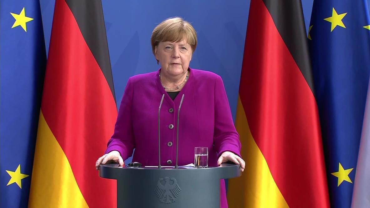 ألمانيا: ميركل وماكرون يقترحان خطة إنقاذ أوروبية بقيمة 500 مليار يورو في مواجهة تداعيات كورونا الاقتصادية