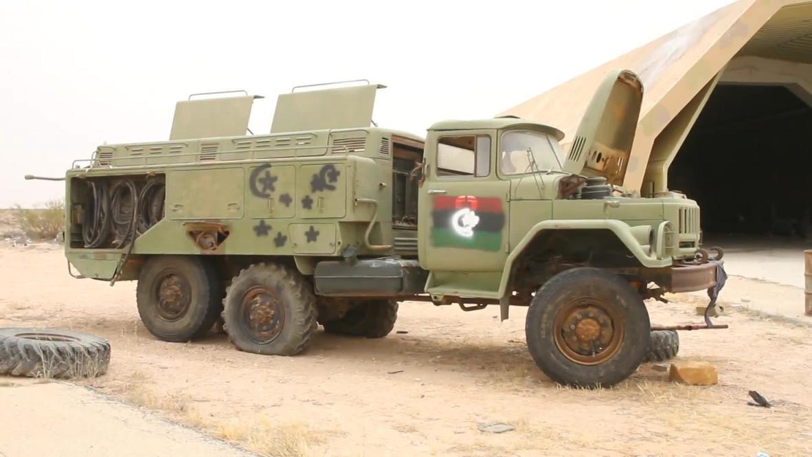 Libya: GNA forces retake strategic al-Watiya airbase south-west of Tripoli