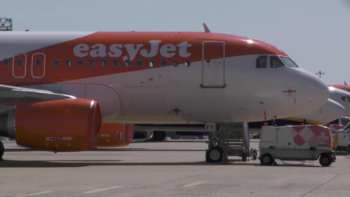 """المملكة المتحدة: شركة """"إيزي جيت"""" للطيران تكشف عن عملية اختراق الكتروني لبيانات تسعة ملايين من عملائها"""