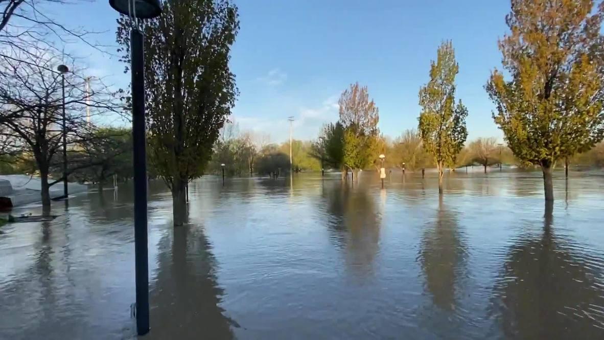 EE.UU.: Michigan se inunda tras la rotura de dos presas a causa de las fuertes lluvias