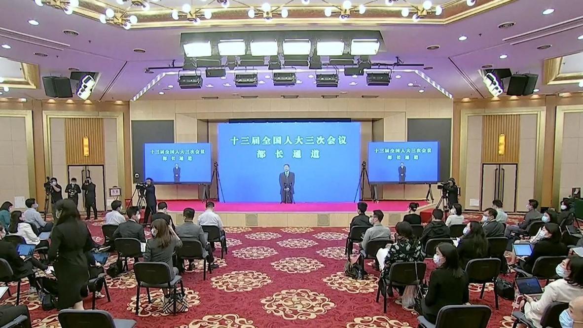 """الصين: بكين تركز على """"توسيع الطلب المحلي"""" مع إلغاء هدف الناتج المحلي الإجمالي بسبب فيروس كورونا"""