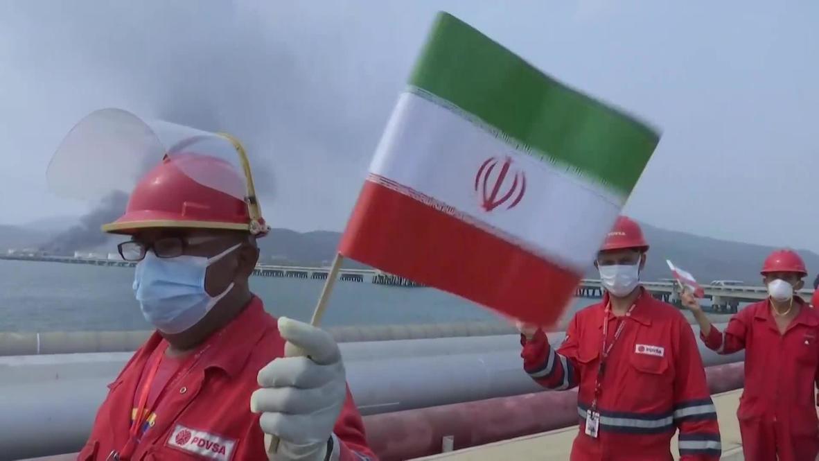 فنزويلا: أول ناقلة نفط إيرانية من خمس ناقلات ترسو في مصفاة إل باليتوِ