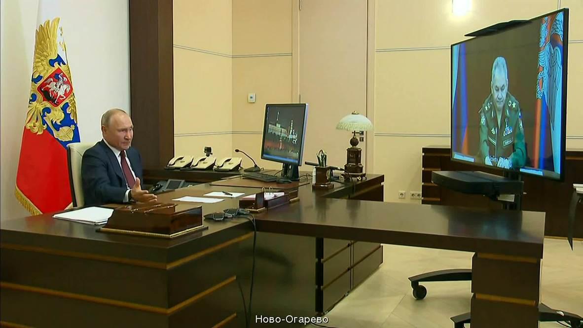 روسيا: بوتين يؤكد تخطي بلاده لذروة انتشار فيروس كورونا