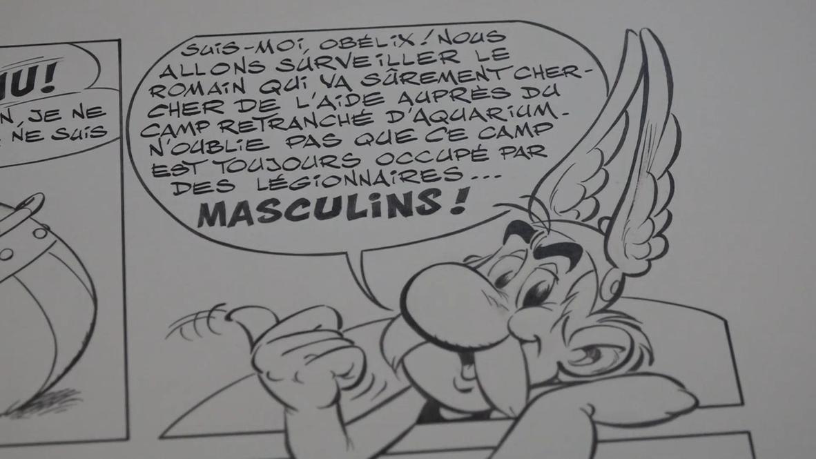 فرنسا: عرض رسومات أصلية لمغامرات أستريكس بسعر 390 ألف يورو في مزاد يذهب ريعه إلى المشافي في ظل أزمة كورونا