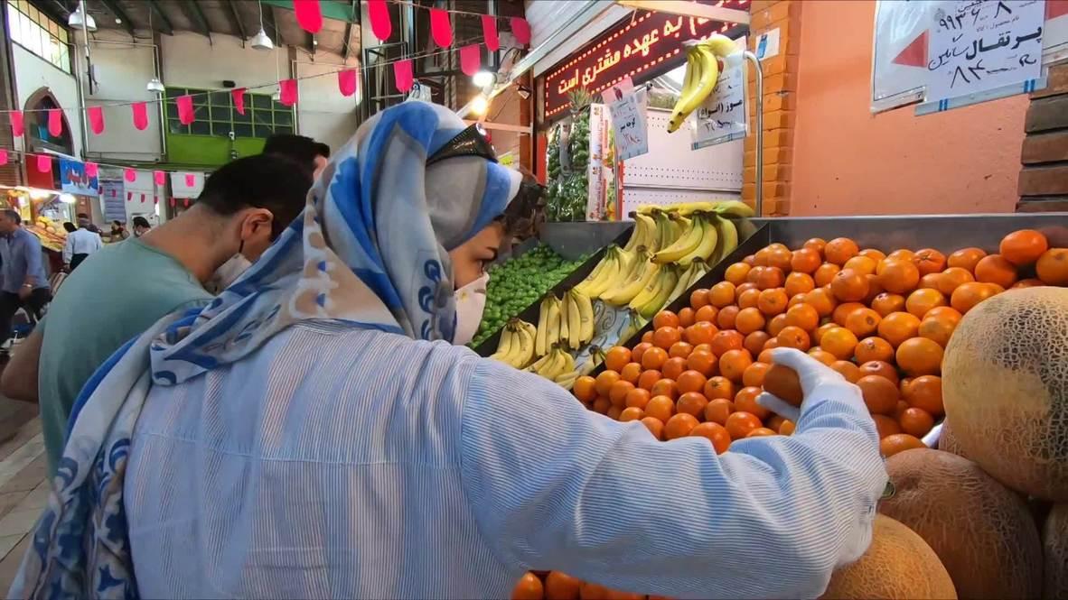 إيران: سكان العاصمة طهران يعبرون عن آرائهم بعد إعادة فتح الأسواق والمتاجر