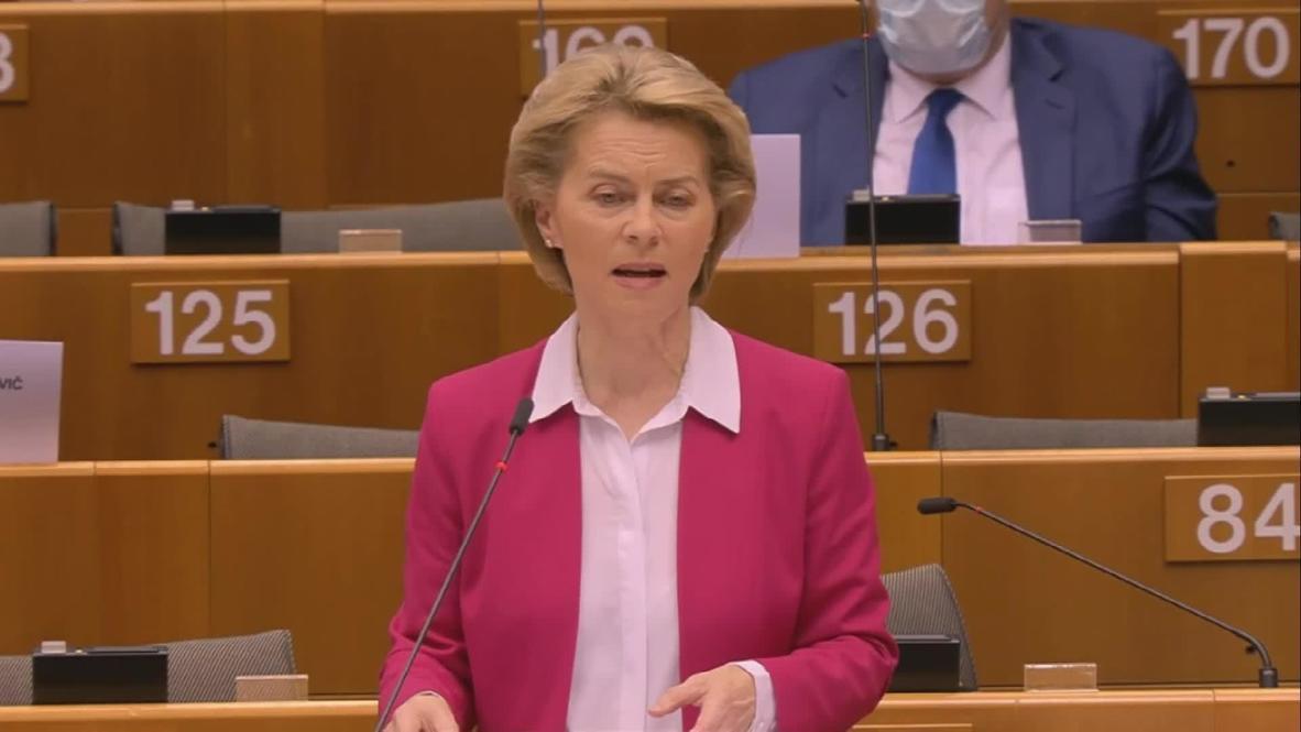 بلجيكا: المفوضية الأوروبية تقترح خطة تعافي بعد أزمة كورونا بقيمة 2.4 تريليون دولار