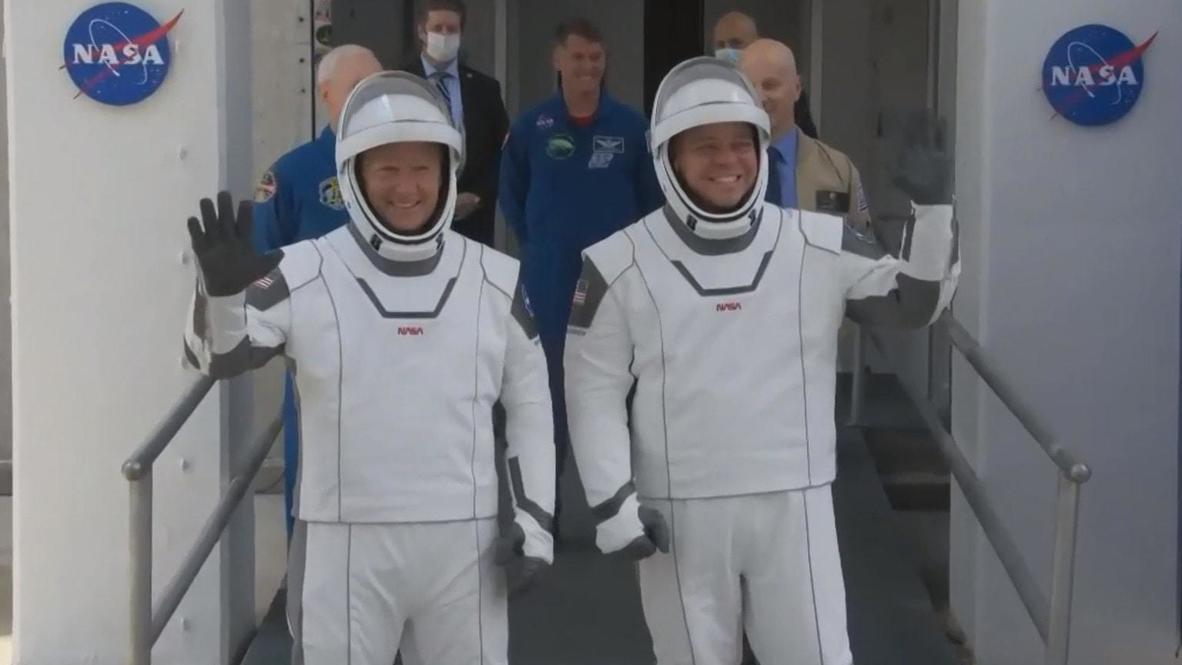 """الولايات المتحدة الأمريكية: إرجاء إقلاع """"سبيس إكس"""" فى أول مهمة فضائية أمريكية مأهولة بسبب رداءة الطقس"""