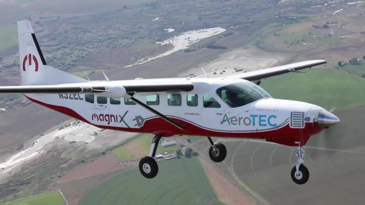 EE.UU.: Avión eléctrico más grande del mundo realiza su vuelo inaugural