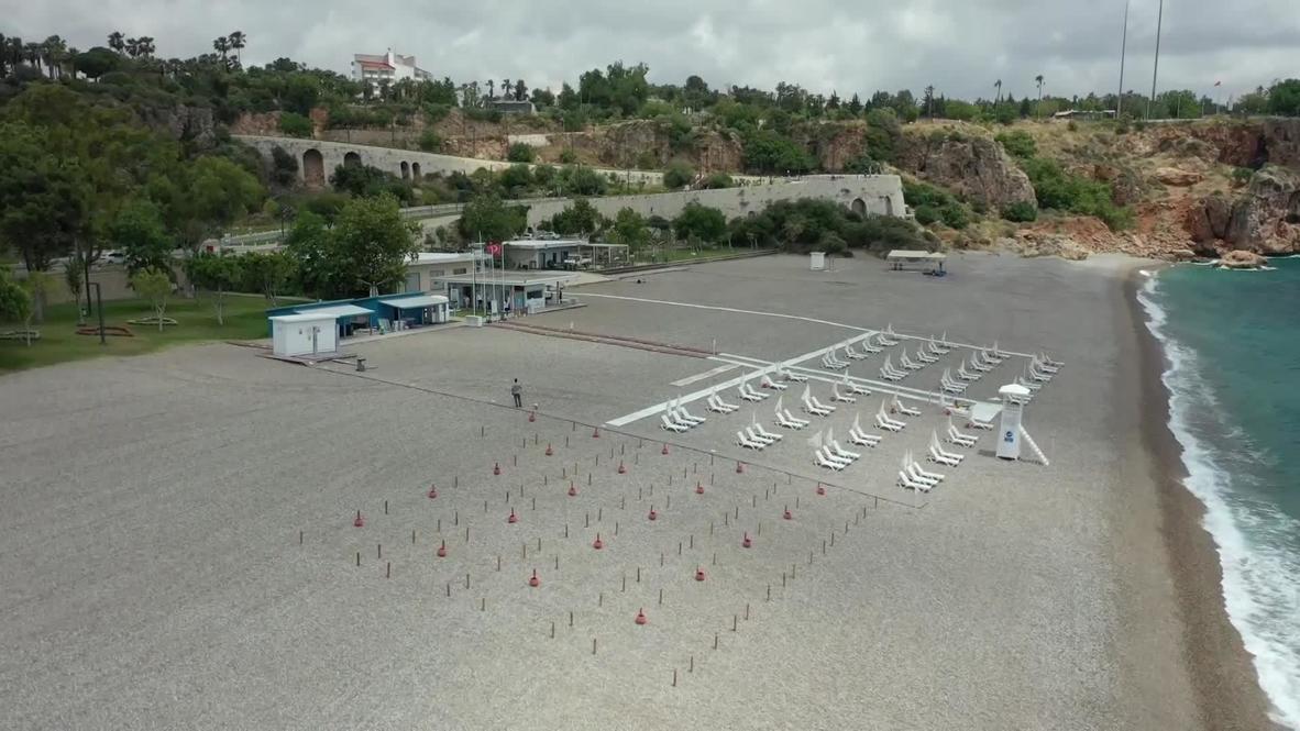 Turquía: Antalya se prepara para el regreso de los turistas con medidas de prevención para el covid-19