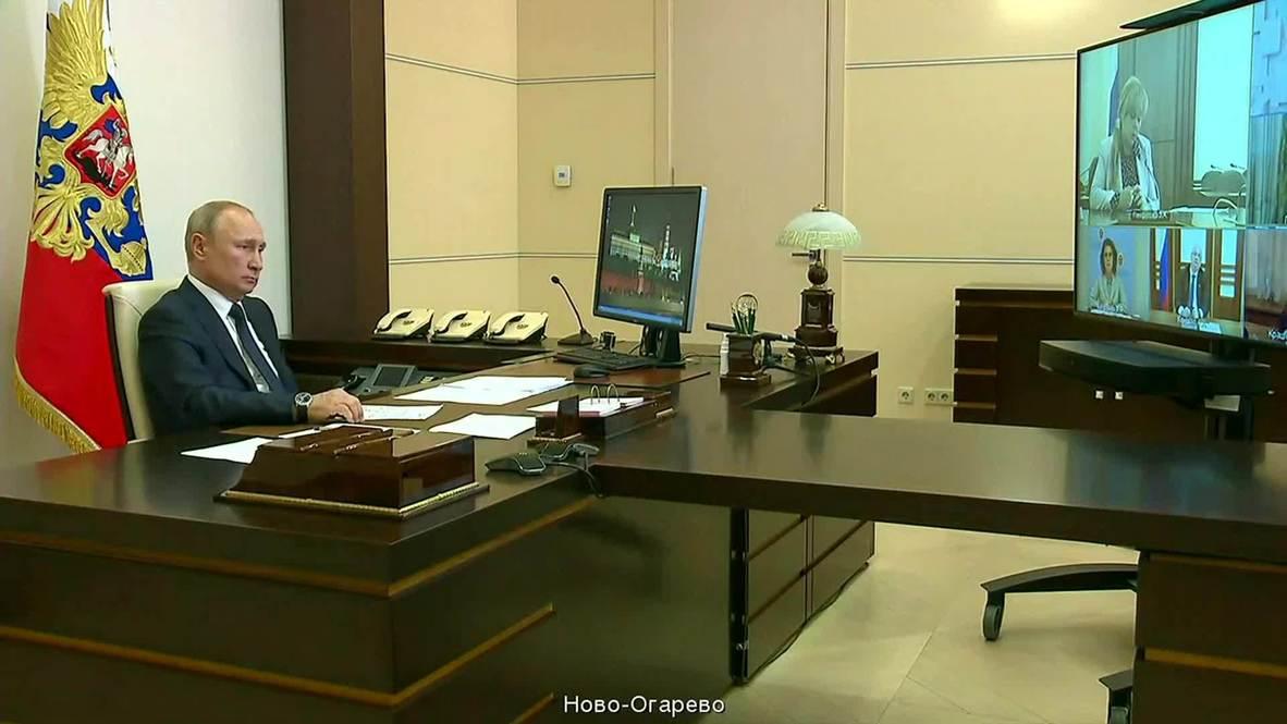 روسيا: بوتين يعلن الأول من يوليو موعداً للتصويت على الإصلاحات الدستورية