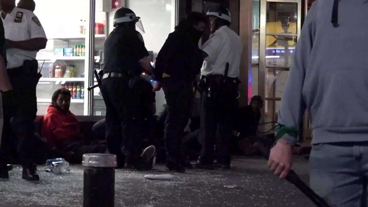 EE.UU.: Varios detenidos mientras continúan los saqueos en Manhattan