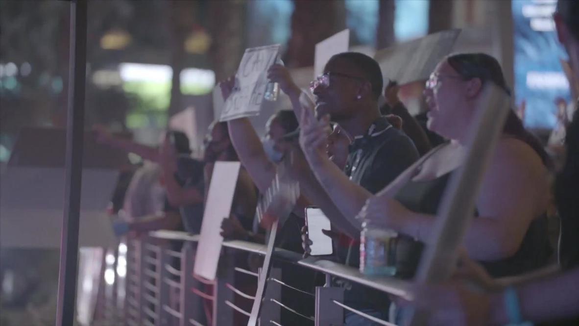 EE.UU.: Un muerto y un policía herido en un tiroteo durante las protestas por George Floyd en Las Vegas