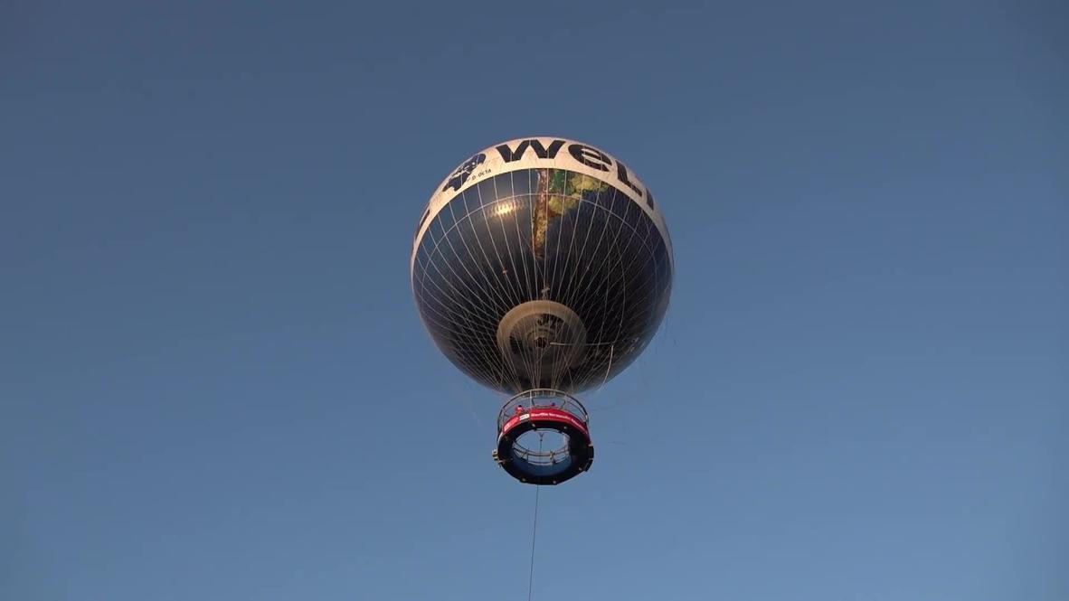 Дело не труба. Оркестр дает концерты для жителей Берлина с воздушного шара