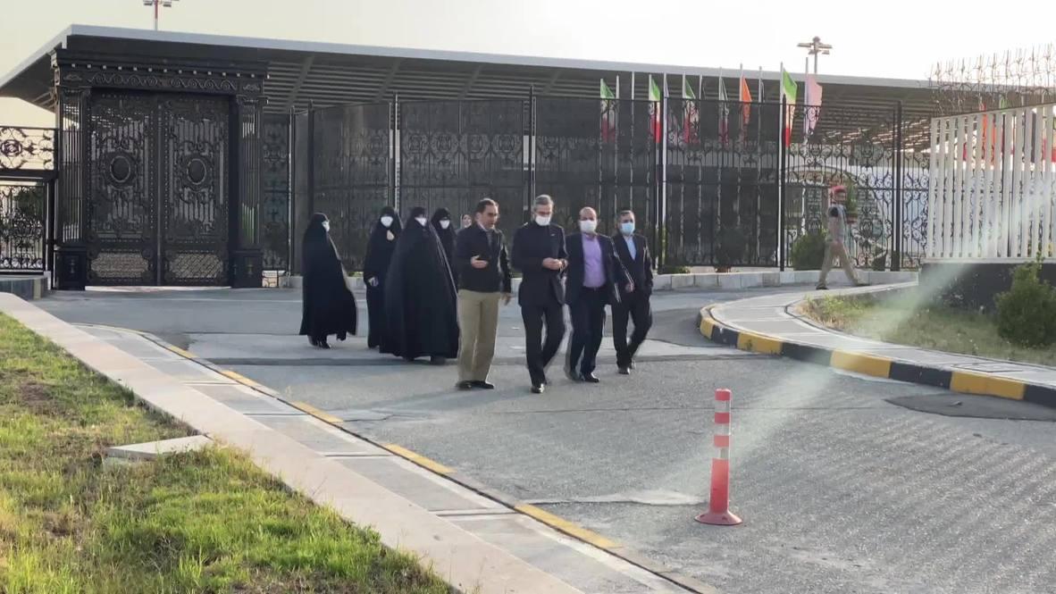 إيران: عالم إيراني يعود إلى طهران بعد الإفراج عنه في الولايات المتحدة الأمريكية