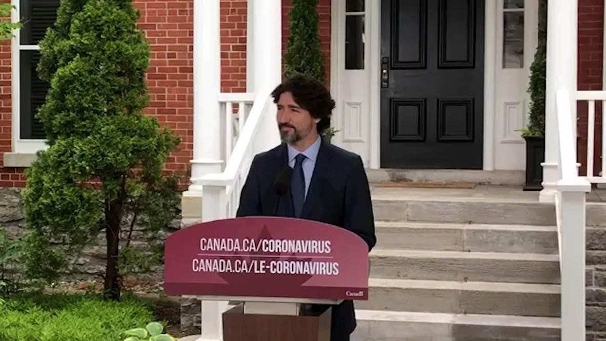 كندا: ترودو يصمت لمدة 21 ثانية بعد سؤاله عن طريقة تعامل ترامب مع الاحتجاجات في الولايات المتحدة