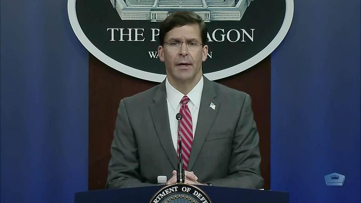 الولايات المتحدة الأمريكية: وزير الدفاع يعارض دعوة ترامب نشر الجيش لمواجهة المتظاهرين