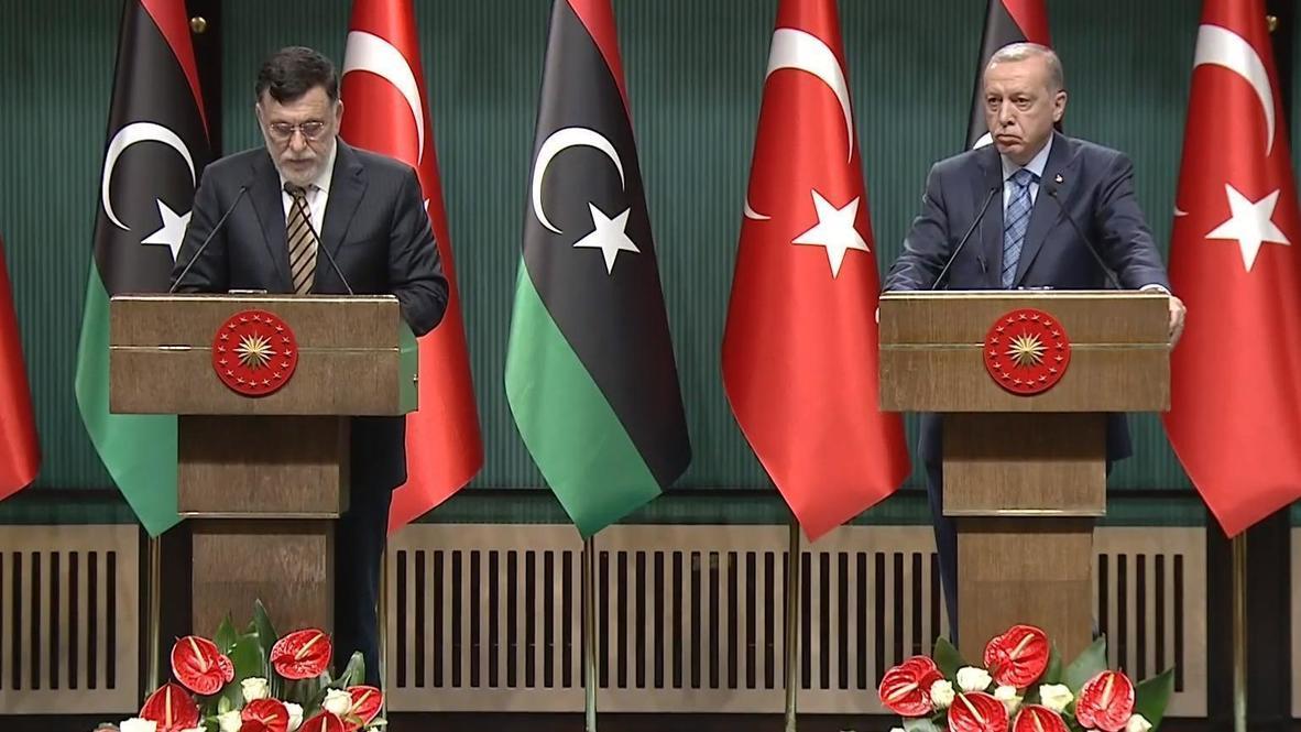 Turkey: President Erdogan meets GNA leader Sarraj in Ankara