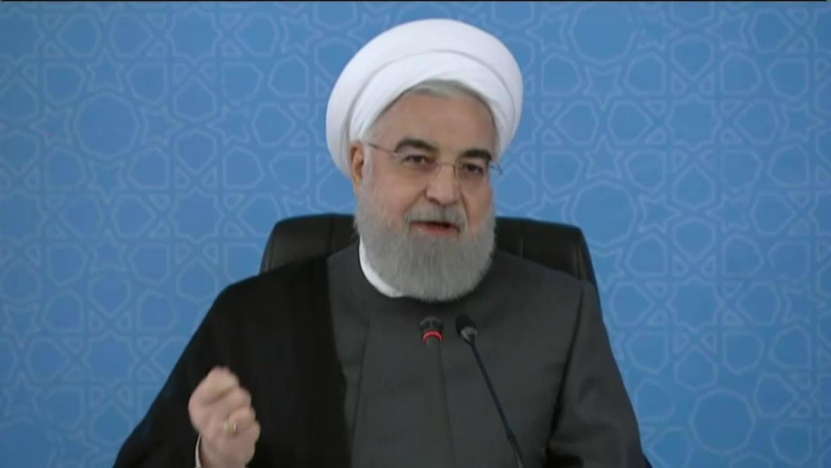 """Irán: Rohaní denuncia el """"brutal"""" asesinato de Floyd y critica la fotografía de Trump con la biblia"""