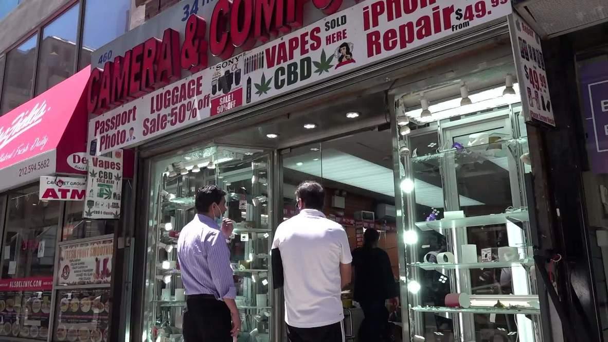 EE.UU.: Dueño de tienda en Manhattan acusa a la policía de pasividad frente a los saqueos