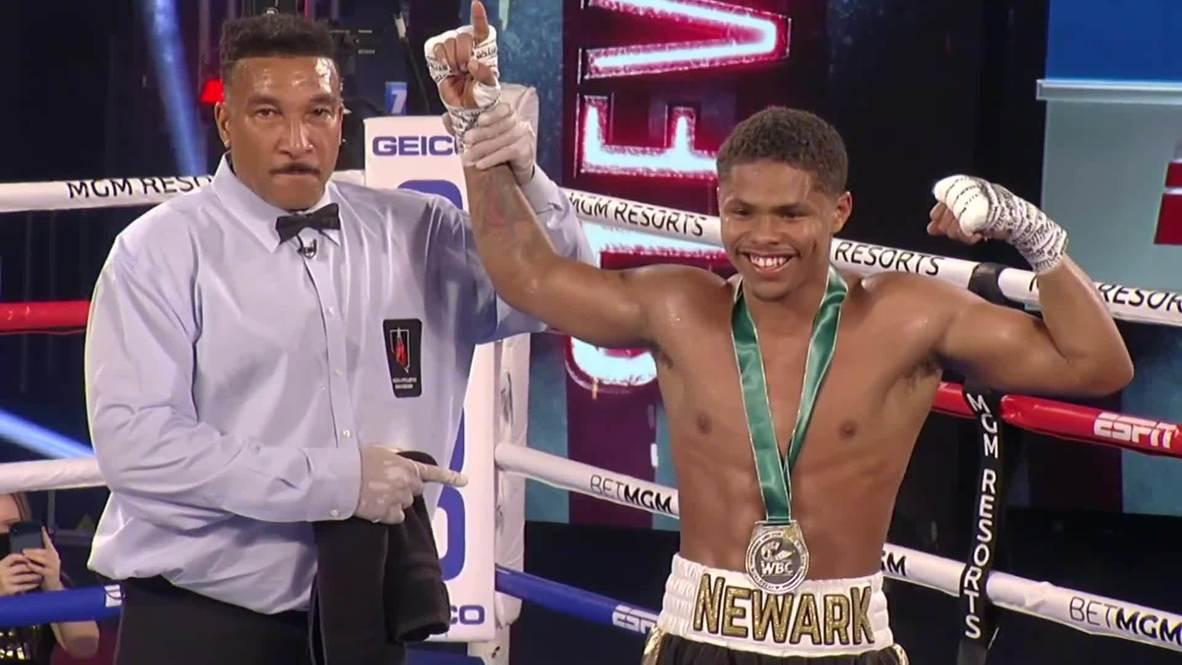 USA: Stevenson knocks out Caraballo as boxing returns from COVID lockdown