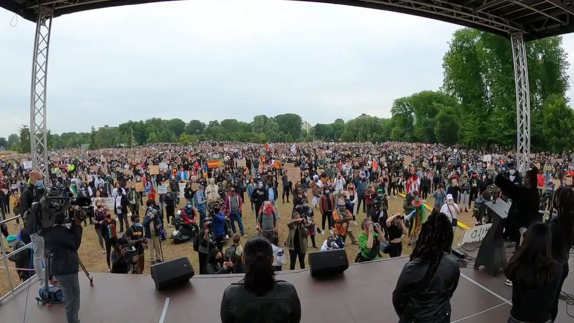 "Países Bajos: Miles de manifestantes asisten a protesta de ""Black Lives Matter"" en Ámsterdam"