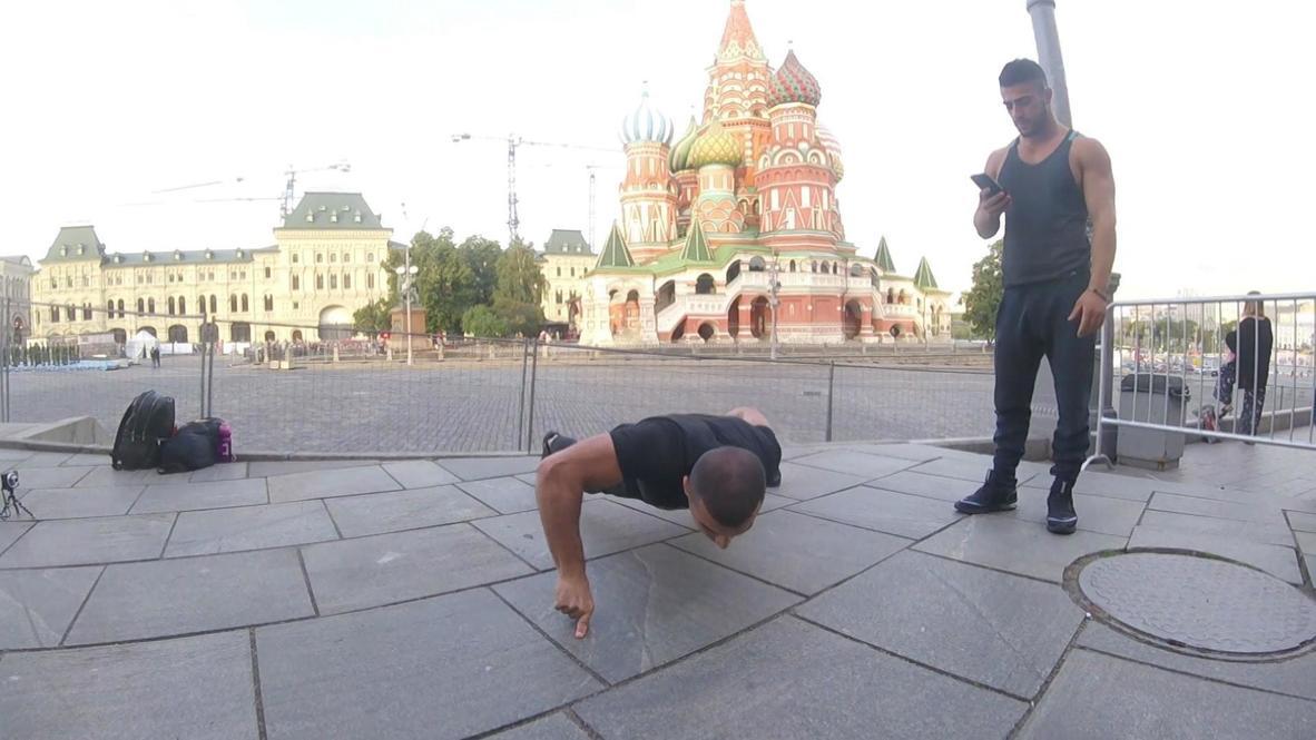 من الحجر الصحي إلى الأرقام القياسية.. رياضي أرميني يتفوق على بروس لي في تمارين الضغط ويدخل موسوعة غينيس