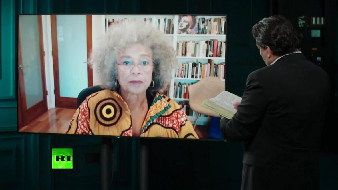 """EE.UU.: """"Nuestros departamentos de policía son la expresión más dramática del racismo estructural"""" - Ángela Davis *CONTENIDO DE SOCIOS*"""